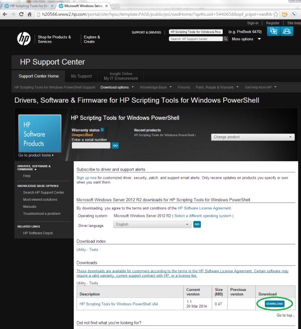 HP Powershell update 4